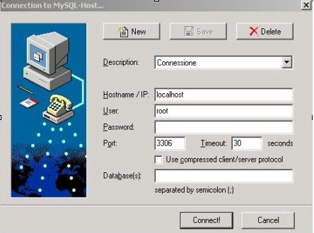 MySQL Front, how to administer a MySQL DB from Windows